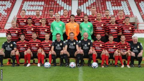Wrexham's current squad