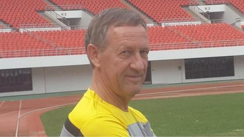 Zambia assistant coach Nico Labohm