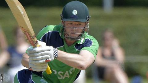 Niall O'Brien's 88 was the highest score of the match