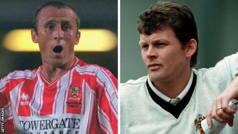 Mark Yates and Steve Cotterill
