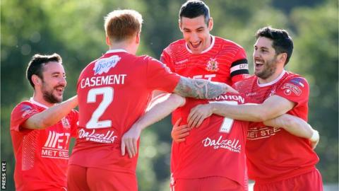 Portadown have made a good start to the season under Ronnie McFall