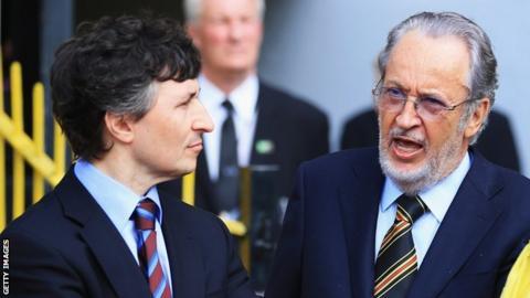 Gino Pozzo and Giampaolo Pozzo