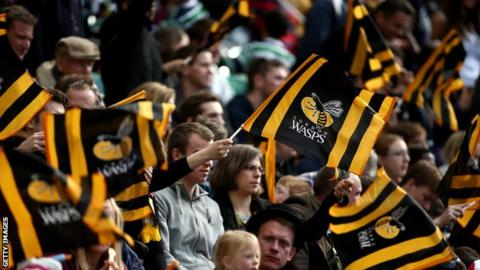 Wasps supporters