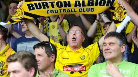 Burton fans