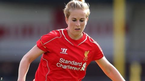 Natasha Dowie scores as Liverpool win 2-1 in Champions League