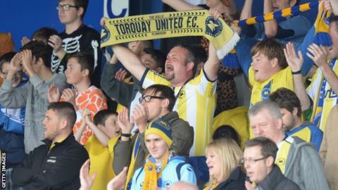 Torquay United fans