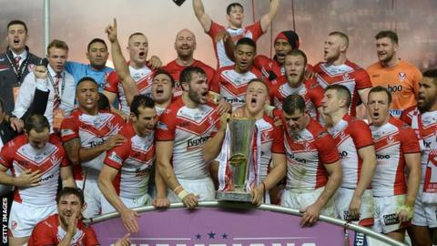 St Helens last won the Grand Final in 2006 when they beat Hull FC