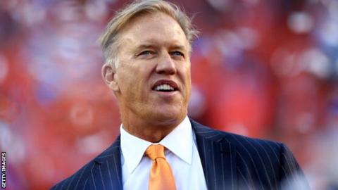 Denver Broncos general manager John Elway