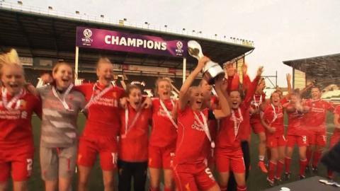 Women's Super League: Liverpool win dramatic WSL title