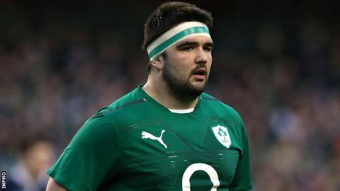 Leinster and Ireland prop Marty Moore