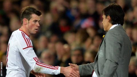 Gareth Bale and Chris Colman
