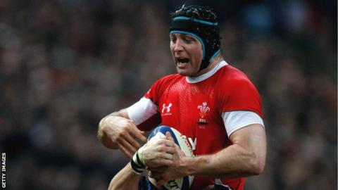 Lock Ian Gough won the last of his 64 Wales caps in 2010