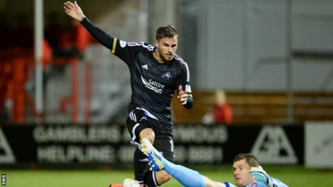 Aberdeen forward David Goodwillie