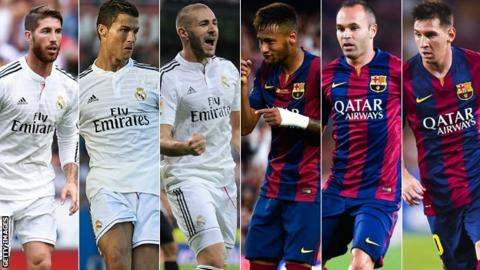 217e10d34b26c Real Madrid v Barcelona  The biggest game in club history  - BBC Sport