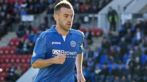 James McFadden made his first St Johnstone start against Kilmarnock