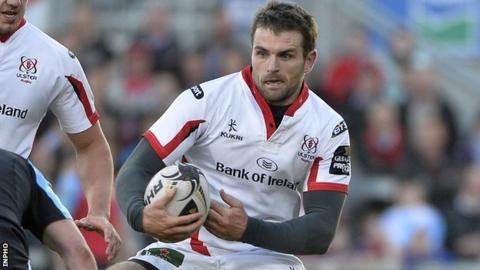 Jared Payne joined Ulster in 2011