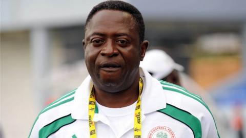 Nigeria caretaker coach Shaibu Amodu