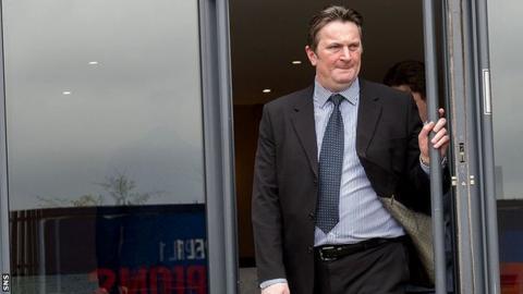 Rangers shareholder Sandy Easdale