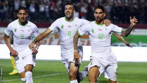 Algeria players