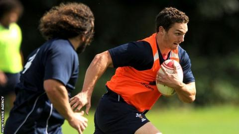 Adam Jones and George North