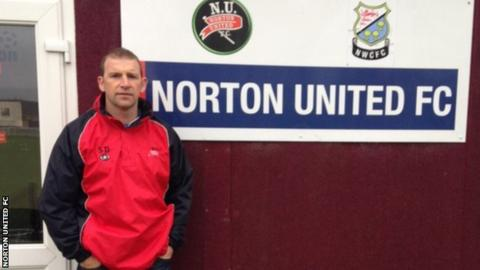 Scott Dundas, manager of Norton United