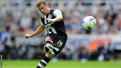 Ryan Taylor, Newcastle United