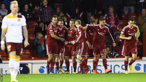 Aberdeen were 1-0 winners at Pittodrie