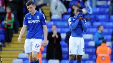 Birmingham dejected