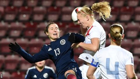 Scotland lost to the Netherlands at Tynecastle