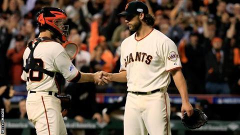 San Francisco Giants Madison Bumgarner