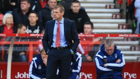 Nottingham Forest manager Stuart Pearce watches on during Saturday's defeat against Blackburn Rovers