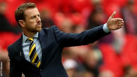 Rowett took Burton to the League Two play-off final last season