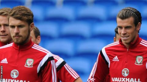 Aaron Ramsey and Gareth Bale