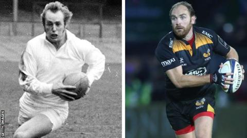 Former England and Coventry winger David Duckham and ex-England and current Wasps fly-half Andy Goode