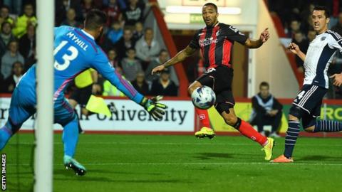 Callum Wilson scored the winner as Bournemouth beat West Bromwich Albion in the League Cup last 16