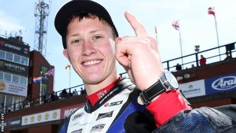 Bradford rider Dean Harrison