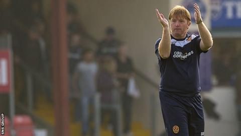 Stuart McCall joined Motherwell in December 2010