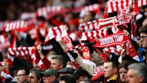 Swindon Town fans