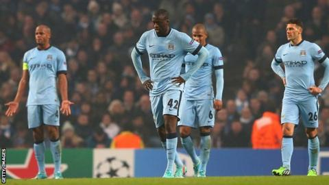 Manchester City Vincent Kompany Yaya Toure