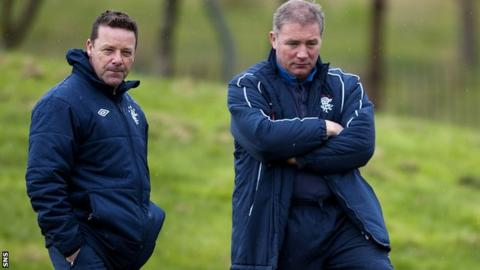 Tommy Wilson and Ally McCoist