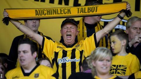 Auchinleck Talbot fans