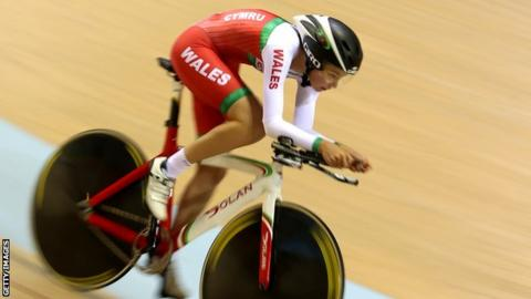 Welsh cyclist Amy Roberts was the 2012 European Junior Track Cycling champion in team pursuit