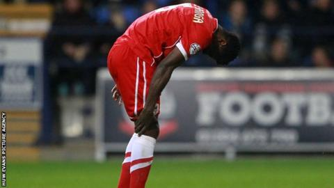 Cardiff City defender Bruno Ecuele Manga injured his calf in the midweek defeat at Bolton Wanderers