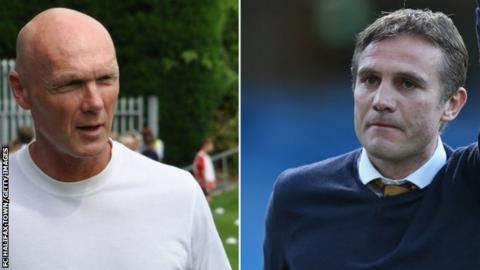 Neil Aspin and Phil Parkinson