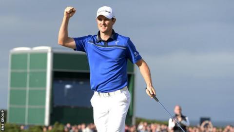 Justin Rose won the 2014 Scottish Open