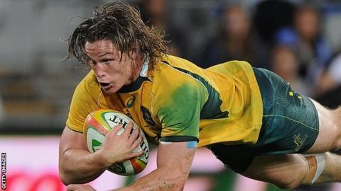 Australia captain Michael Hooper