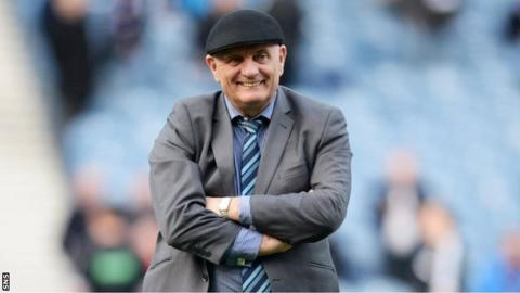 Forfar manager Dick Campbell
