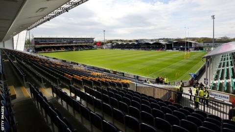 Sixways, home of Worcester Warriors