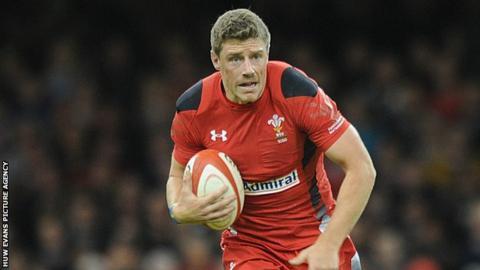Wales fly-half Rhys Priestland