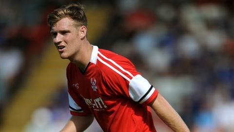 Kyle Storer, Kidderminster Harriers midfielder